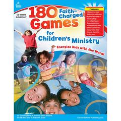 CARSON DELLOSA 180 FAITH-CHARGED GAMES FOR CHILDRENS MINISTRY ELEMENTARY
