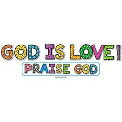 CARSON DELLOSA GOD IS LOVE BB SETS 6-PK CHRISTIAN