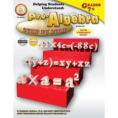 HELPING STUDENTS UNDERSTAND ALGEBRA PRE-ALGEBRA 7& UP