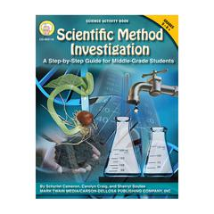 CARSON DELLOSA SCIENTIFIC METHOD INVESTIGATIONS A STEP BY STEP GUIDE FOR GR 5-8