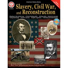CARSON DELLOSA SLAVERY CIVIL WAR & RECONSTRUCTION