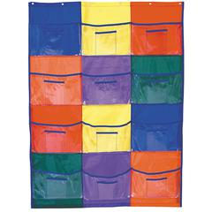 POCKET CHART LIBRARY/CENTERS 37 X 51-1/2