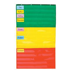 POCKET CHART ADJUSTABLE 34 X 60