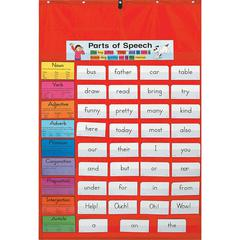 ORIGINAL POCKET CHART RED