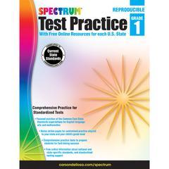 CARSON DELLOSA TEST PRACTICE GR 1