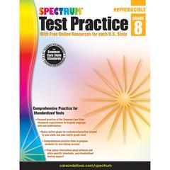 CARSON DELLOSA TEST PRACTICE GR 8