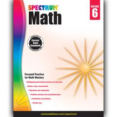 SPECTRUM MATH GR 6