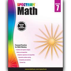 SPECTRUM MATH GR 7