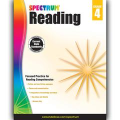 CARSON DELLOSA SPECTRUM READING GR 4