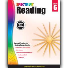 CARSON DELLOSA SPECTRUM READING GR 6
