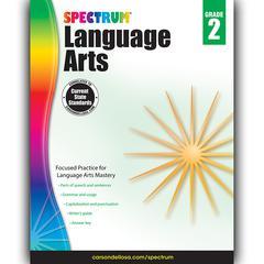 SPECTRUM LANGUAGE ARTS GR 2