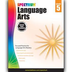 SPECTRUM LANGUAGE ARTS GR 5