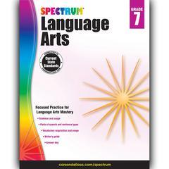 SPECTRUM LANGUAGE ARTS GR 7