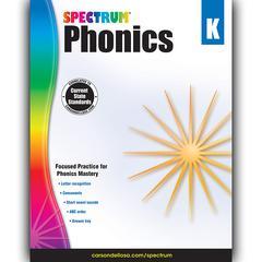 CARSON DELLOSA SPECTRUM PHONICS GR K