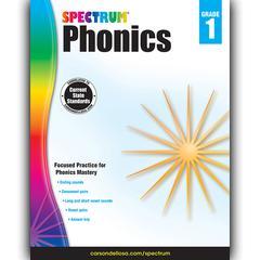CARSON DELLOSA SPECTRUM PHONICS GR 1