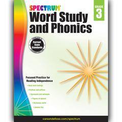 SPECTRUM GR 3 WORD STUDY AND PHONICS