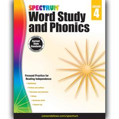 CARSON DELLOSA SPECTRUM GR 4 WORD STUDY AND PHONICS