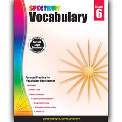 SPECTRUM VOCABULARY GR 6