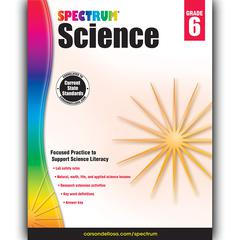 SPECTRUM SCIENCE GR 6