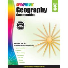 SPECTRUM GEOGRAPHY COMMUNITIES GR 3