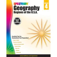 SPECTRUM GEOGRAPHY REGIONS OF THE USA GR 4