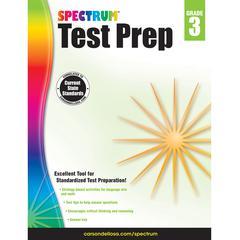 CARSON DELLOSA SPECTRUM TEST PREP GR 3