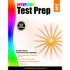 SPECTRUM TEST PREP GR 5