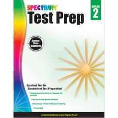 CARSON DELLOSA SPECTRUM TEST PREP GR 2