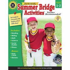 CARSON DELLOSA SUMMER BRIDGE ACTIVITIES GR 1-2