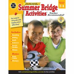 CARSON DELLOSA SUMMER BRIDGE ACTIVITIES GR 3-4