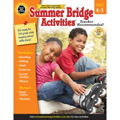 CARSON DELLOSA SUMMER BRIDGE ACTIVITIES GR 4-5