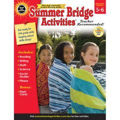 CARSON DELLOSA SUMMER BRIDGE ACTIVITIES GR 5-6