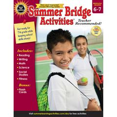 CARSON DELLOSA SUMMER BRIDGE ACTIVITIES GR 6-7