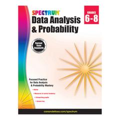 CARSON DELLOSA SPECTRUM DATA ANALYSIS PROBABILITY GR 6-8