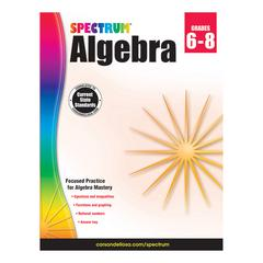 SPECTRUM ALGEBRA GR 6-8