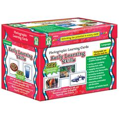 CARSON DELLOSA EARLY LEARNING SKILLS LEARNING CARDS SET