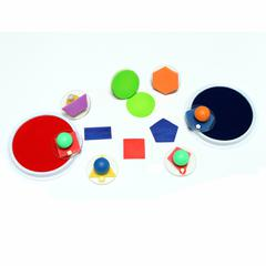 CENTER ENTERPRISES READY2LEARN GIANT GEOMETRIC SHAPES STAMPERS
