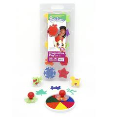 CENTER ENTERPRISES READY2LEARN GIANT IMAGINATIVE PLAY SET 2 STAMPS