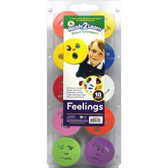 CENTER ENTERPRISES READY2LEARN GIANT FEELINGS STAMP SET