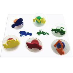 Ready2Learn Giant Construct Vehicle, Stampers