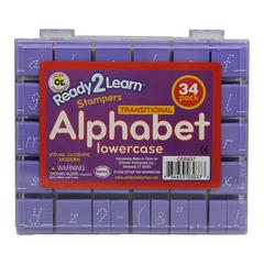 VISUAL CLOSURE 1 LOWER MODERN SET ALPHABET STAMPS
