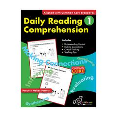 NELSON EDUCATION DAILY READING COMPREHENSION GR 1