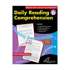 NELSON EDUCATION DAILY READING COMPREHENSION GR 6