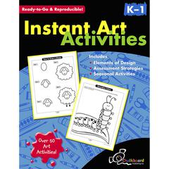 NELSON EDUCATION INSTANT ART ACTIVITIES GR K-1
