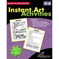 NELSON EDUCATION INSTANT ART ACTIVITIES GR 4-6