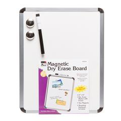 Magnetic Dry Erase Board 11X14, W/Eraser  Marker & 2 Magnets
