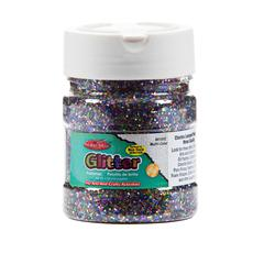 CREATIVE ARTS GLITTER 4OZ MULTI CLR