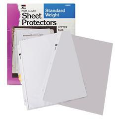 SHEET PROTECTORS NON GLARE 100 BOX