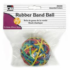 Rubber Bands Asst Colors