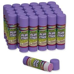 GLUE STICKS 30 PURPLE .70 OZ